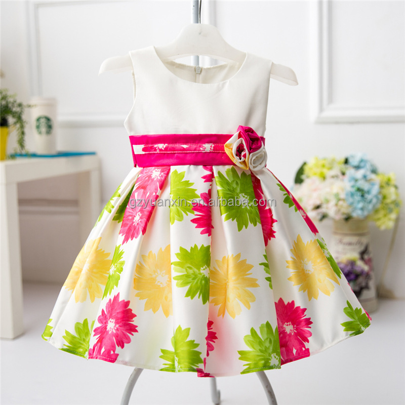 Floral Printed Designs India For Girl Summer - Buy Floral Printed ...