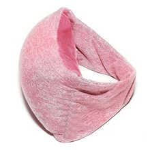 Hot Selling 2 in 1 Travel Pillow And Eye neck pillow Voyage Pillow For Travel