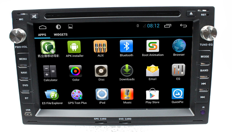 Wholesale Capacitive Screen 3G Wifi for Volkswagen Golf 4 pure Android 4.2.2 Car Dvd with Gps navigation