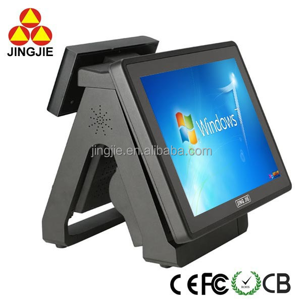 All in One Cheap Used POS System Touch Point Of Sale JJ-8000BU