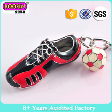 Cheap Alloy football charm Clip On necklace Charms Pendants Plated Enamel Chain Bracelets accessorie