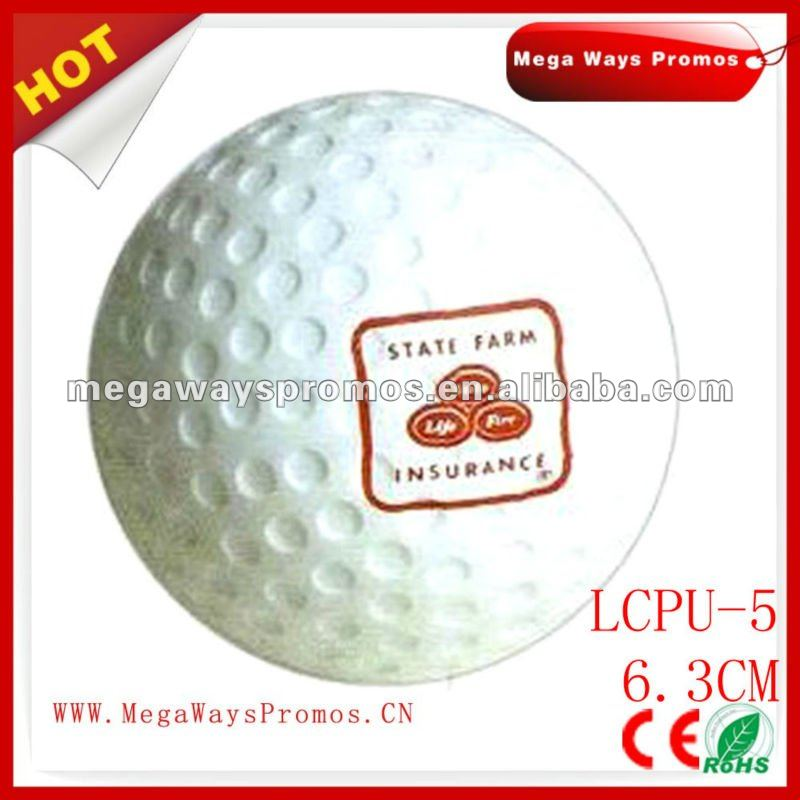PU stress golf bouncy ball