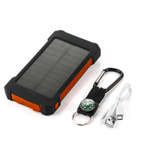 2016 hot sale battery charger solar power bankpower bank 2600mah phone charger