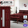 new design pvc interior wooden door for bedroom-wpj14-902