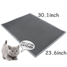 Extra Large Light EVA Foam Rubber Blackhole Cat Litter Mat