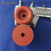 Red Color Round Shaped Silicone Rubber door stop