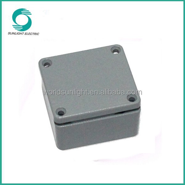 High quality waterproof ABS aluminum solar junction box ip67