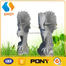 Natural eagle stone carvings and sculptures