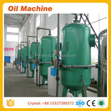 Advanced design 1 tons/day 3tons/day crude palm oil refining machine