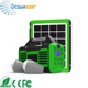 Ocean Solar Outdoor and Indoor LCD screen Solar Lighting Kit Solar System Home OS-DS0545