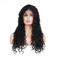 Top quality Human Hair Front Lace Wig Kinky Curly 100 Percent Indian Hair Full Lace Wig