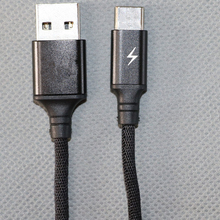 USB 2.0 to TYPE-C data transfer and charging cable