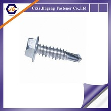 China supplier Carbon steel grade 4.8 zinc plated DIN 7504 modifiled truss head philips self drilling screws