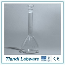 One Graduation Mark Volumetric Flask With Ground