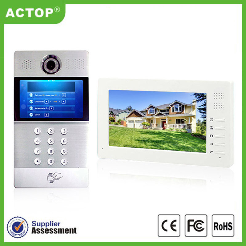 ACTOP New Arrival 720P Wifi Door Viewer Door Bell Camera with battery
