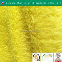 Novelty s popular wholesale Yellow plain colored polyester plush toy fishbone duck imitation fabric