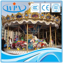Merry Go Round Amusement Park Rides Equipment antique carousel for sale