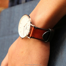 Italian Genuine Leather Watch Band Strap 28mm