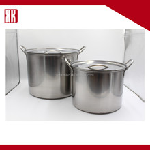 Wholesale Home Kitchenware Parts Stainless Steel Cooking Food Stock Pot