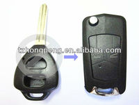 factory direct 2 button modified car remote flip key blank for Toyota key shell
