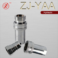 ZJ-YAASteel Forged Technics NPTF male hydraulic connector fittings