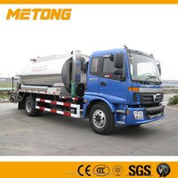 8000L Intelligentized asphalt distributor,road bitumen spraying machine,road truck