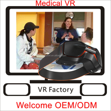 Hospital bed virtual display glasses, hospital equipment 3d vision 2.0 vr headset for high technology doctor toy