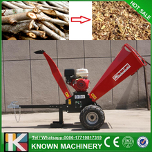 The CE approved 15 Hp gasoline wood chipper / wood shredder for sale