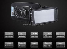 LED flash 1080P Loop video car dvr 2.5inch screen car dvr camera