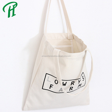 High Quality Cotton Tote Bag Custom Logo Printed Eco Fashion Canvas Shopping Bag