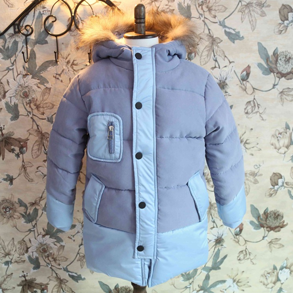 MS61010C latest kids winter collection down jackets long winter coats for girls