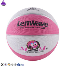 Lenwave brand cheap inflatable custom bulk colorful rubber ball