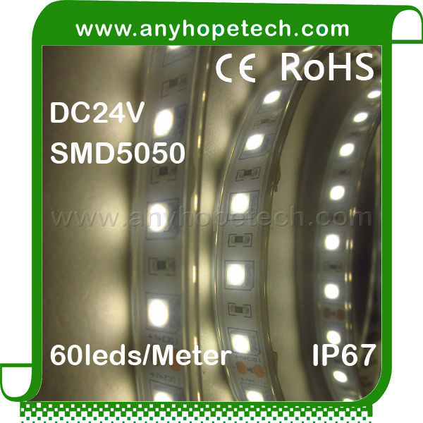 Hot sale efficiency SMD5050 water resistant 60ledm led thermal tape