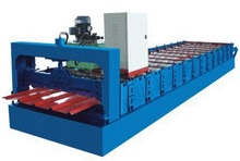 palm oil processing machinery color glaze tile forming machine