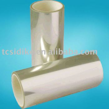 High quality silicon coated screen protector film roll