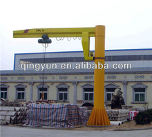 Arm crane with electric hoist