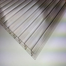 100% virgin Sabic material 10 years quality guarantee Anti-fog hollow polycarbonate sheet for greenhouse