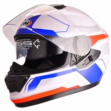 DOT, ECE Full face cascos de moto motorcycle helmet with dual visor