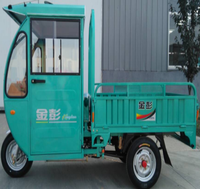 250cc motorized big 3 wheel cargo tricycle closed cabin motor tricycle