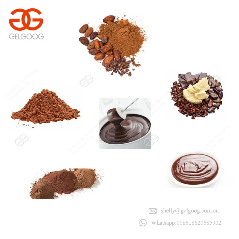 CE Approved Peanut Paste Roaster Production Line Machine Cocoa Bean Butter Equipment