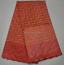 AG3711#1 New arrvial swiss lace orange color lace / high quality african wedding swiss voile lace fabric