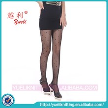 Japan black nylon silk foot sexy compression stockings