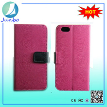 Flip Stand Wallet Style Pu Leather sublimation cell phone cases For iPhone 5s