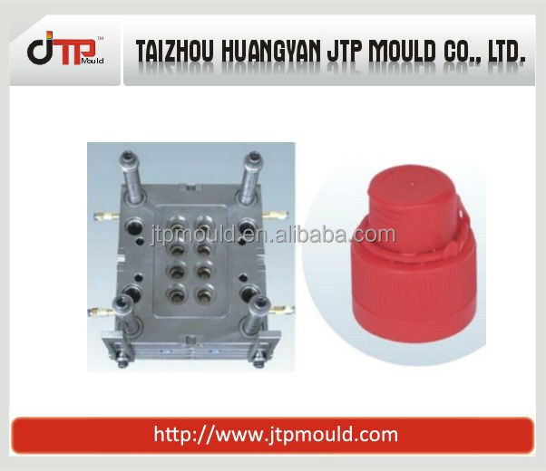 8 cavities cap mould injection moulding