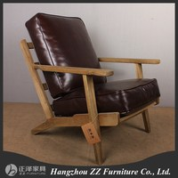 Comfortable french style antique style chaise lounge chair