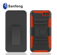 High grade new design smart phone protection for amazon fire cellphone cover kickstand belt clip case