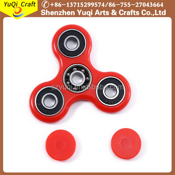 Wholesale China factory price aluminum hand fidegt spinner toys
