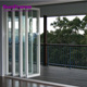Aluminum interior folding glass doors popular aluminum folding stacking doors