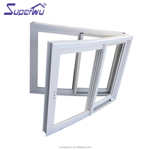 NZ standard double glazed curved aluminum interior sliding window