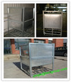 Chemical storage liquid container IBC Steel Tank